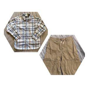 Other - Old Navy Shorts & Tommy Hilfiger Shirt, SZ L, EUC
